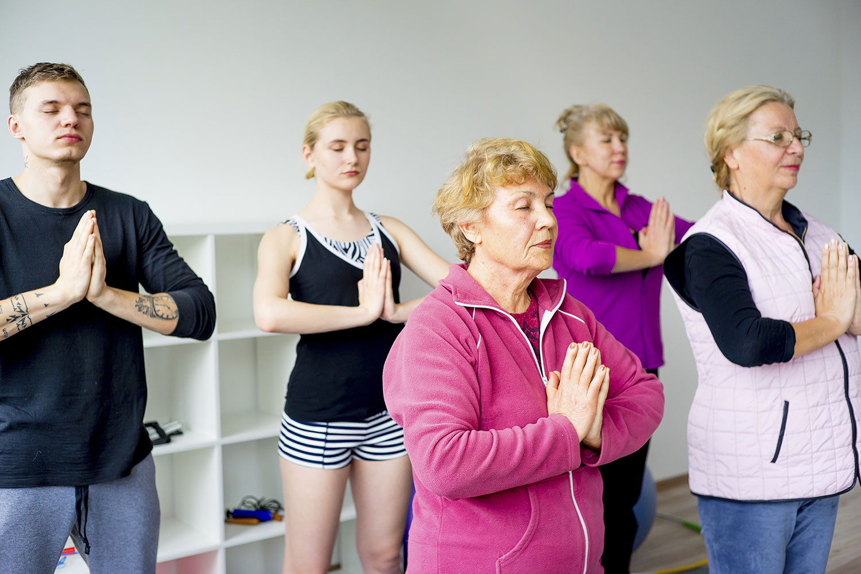 Benefits of yoga on brain health